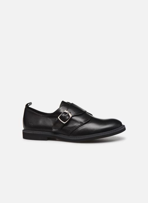 Zapatos con cordones BOSS Derby J29187 Negro vistra trasera