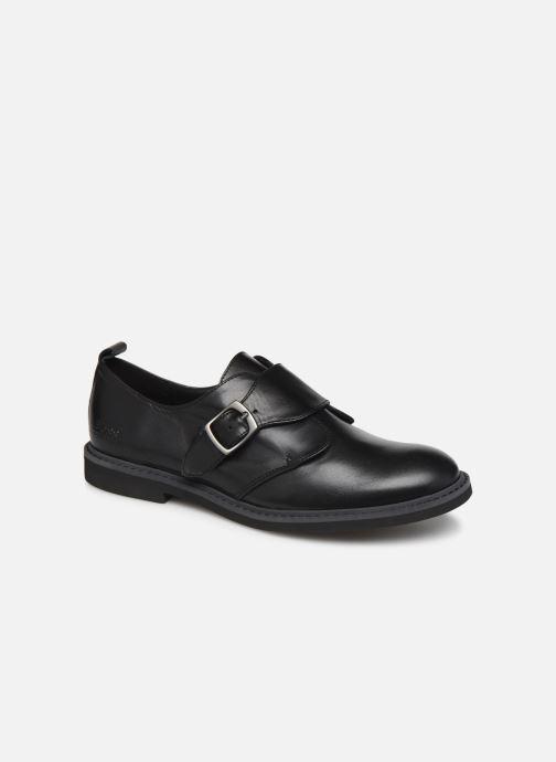 Zapatos con cordones BOSS Derby J29187 Negro vista de detalle / par