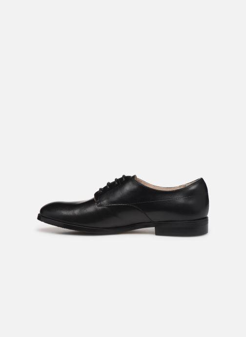 Scarpe con lacci BOSS Chaussures J29195 Nero immagine frontale