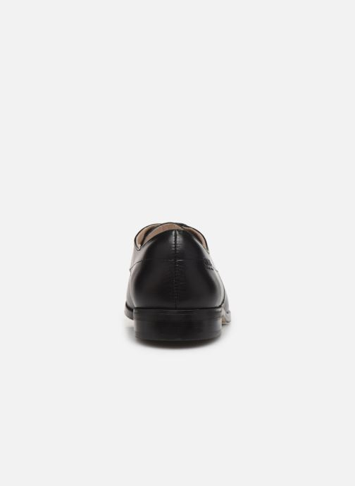 Zapatos con cordones BOSS Chaussures J29195 Negro vista lateral derecha