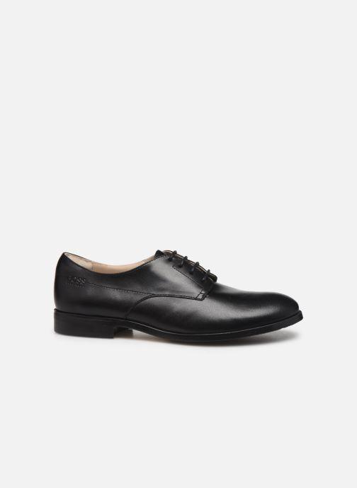 Schnürschuhe BOSS Chaussures J29195 schwarz ansicht von hinten