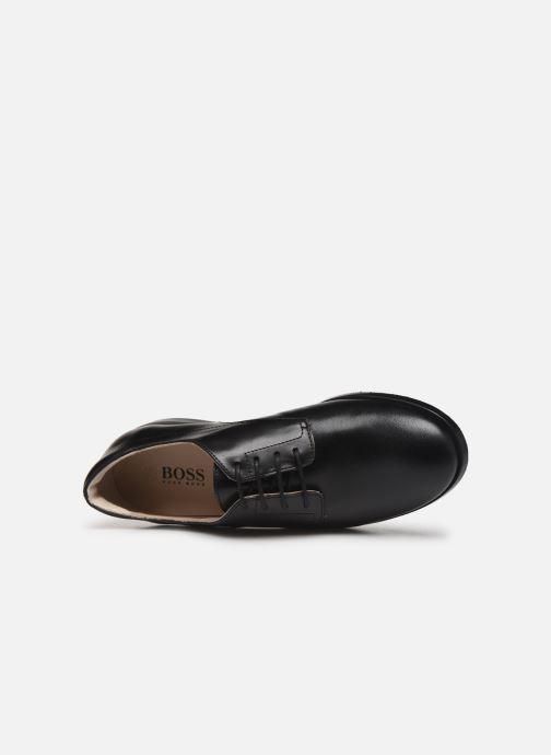 Schnürschuhe BOSS Chaussures J29195 schwarz ansicht von links