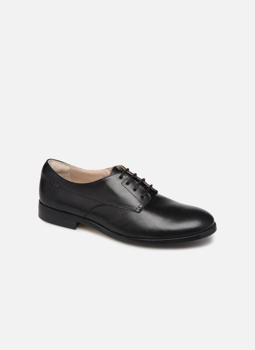 Zapatos con cordones BOSS Chaussures J29195 Negro vista de detalle / par