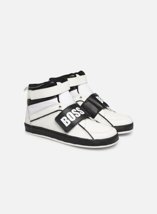 Sneakers BOSS Baskets J29188 Bianco immagine 3/4