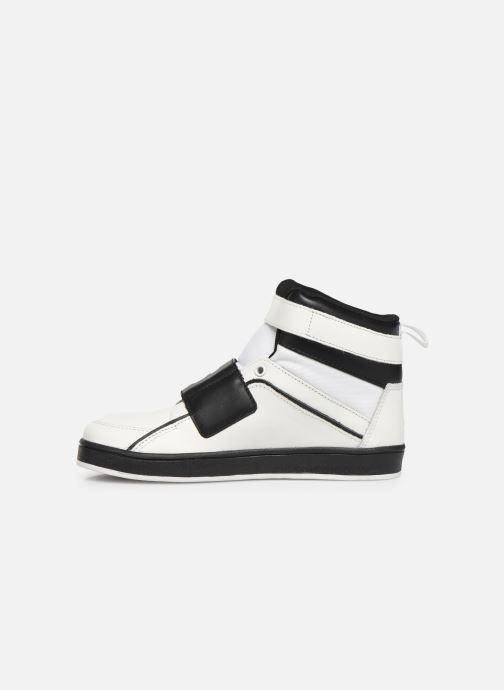 Sneakers BOSS Baskets J29188 Bianco immagine frontale