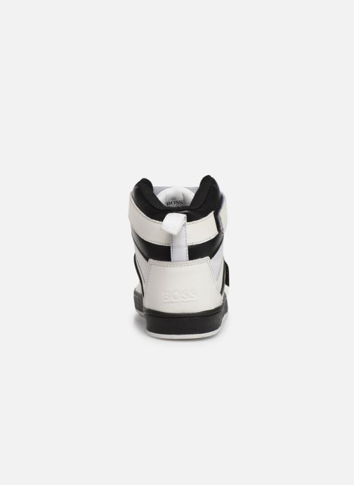 Sneakers BOSS Baskets J29188 Bianco immagine destra