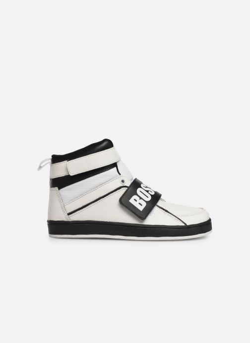 Sneakers BOSS Baskets J29188 Bianco immagine posteriore