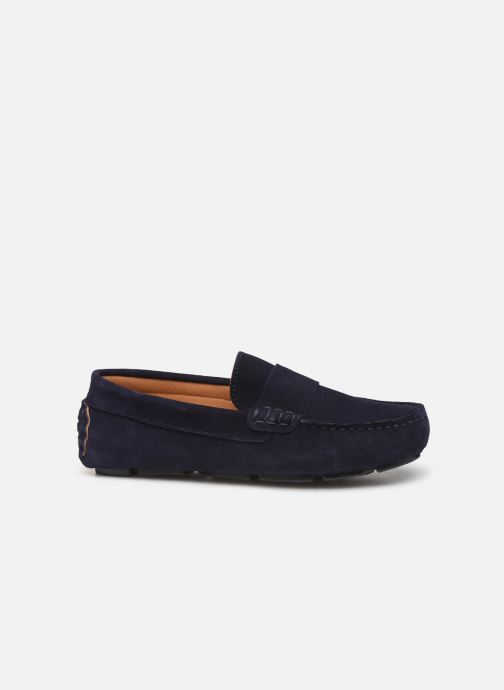 Mocasines BOSS Mocassins J29196 Azul vistra trasera