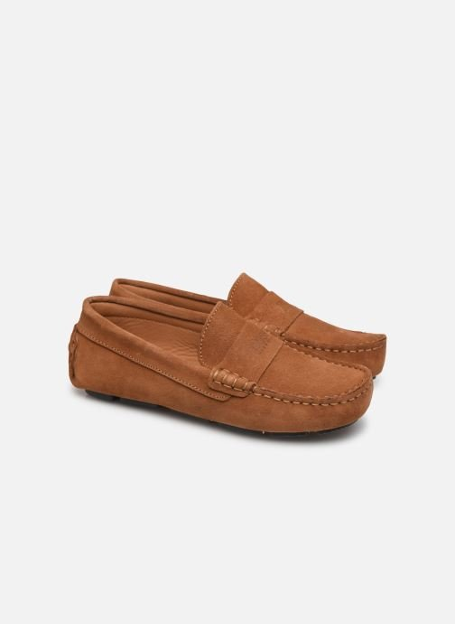 Loafers BOSS Mocassins J29196 Brun 3/4 billede