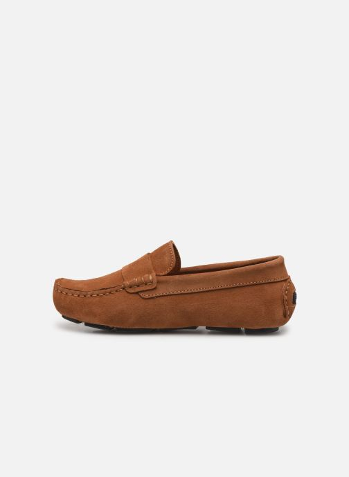Loafers BOSS Mocassins J29196 Brun se forfra