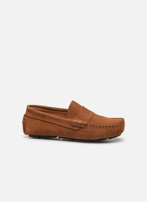 Loafers BOSS Mocassins J29196 Brun se bagfra