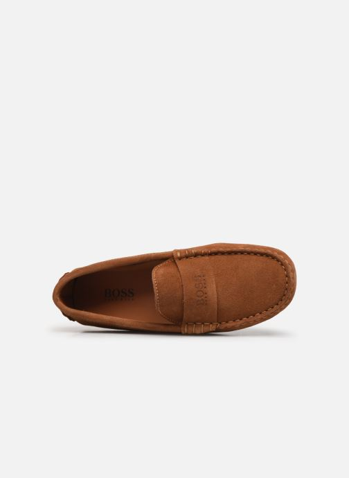 Mocassins BOSS Mocassins J29196 Bruin links