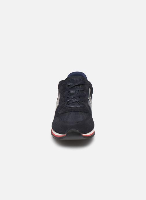 Baskets BOSS Baskets J29184 Bleu vue portées chaussures