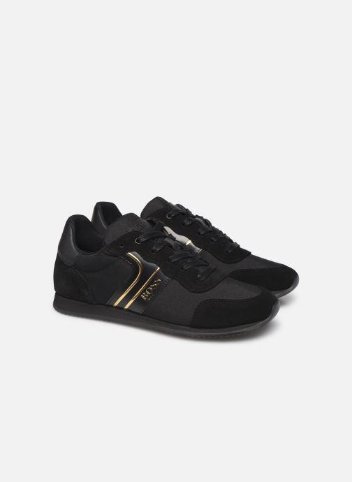 Sneakers BOSS Baskets J29184 Zwart 3/4'