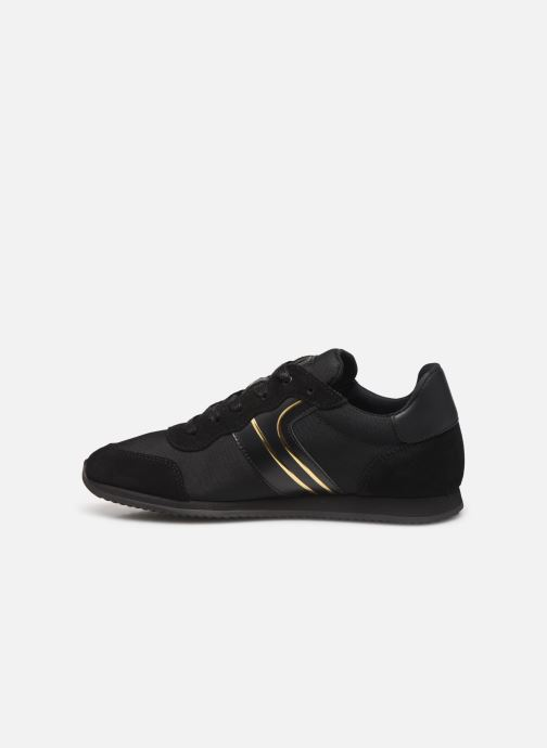 Sneakers BOSS Baskets J29184 Zwart voorkant