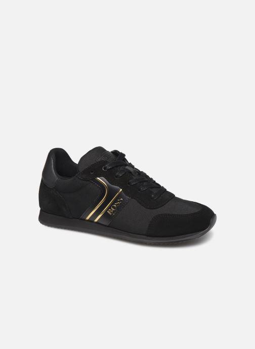 Sneakers BOSS Baskets J29184 Zwart detail