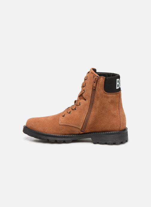 Bottines et boots BOSS Bottines J29192 Marron vue face