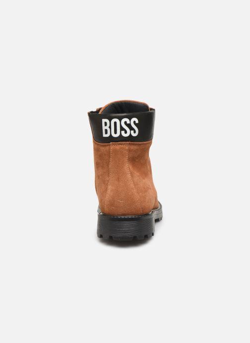 Bottines et boots BOSS Bottines J29192 Marron vue droite