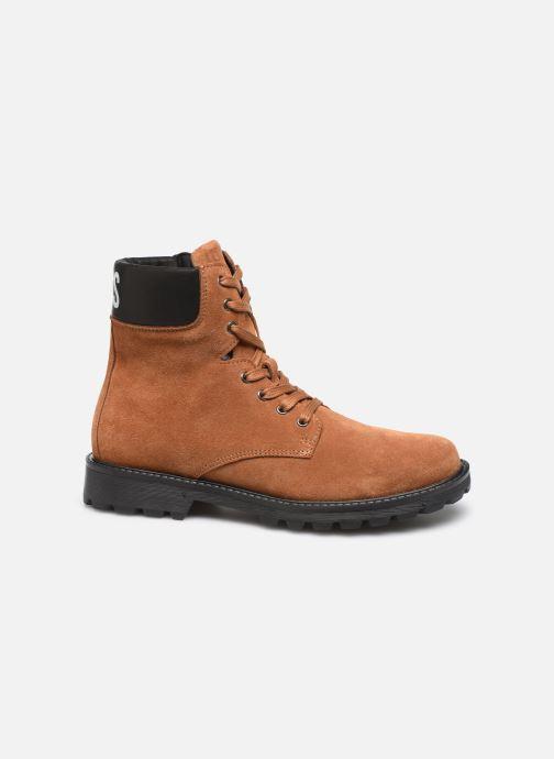Bottines et boots BOSS Bottines J29192 Marron vue derrière
