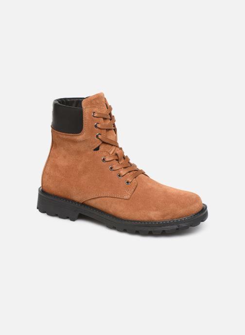 Bottines et boots BOSS Bottines J29192 Marron vue détail/paire