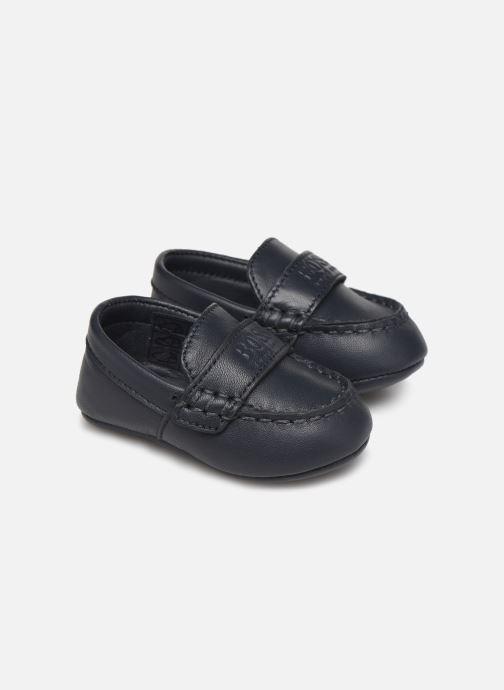 Pantofole BOSS Mocassins J99F64 Azzurro vedi dettaglio/paio