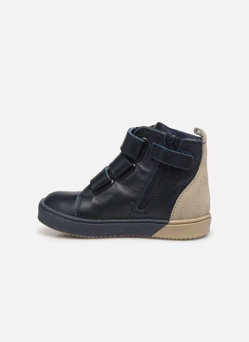 Sneakers Carrement Beau Baskets Y99052 Azzurro immagine frontale