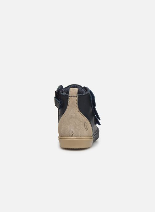 Sneakers Carrement Beau Baskets Y99052 Blauw rechts