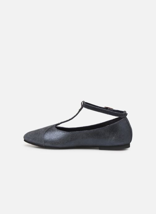 Ballerines CARREMENT BEAU Ballerines Y19043 Bleu vue face