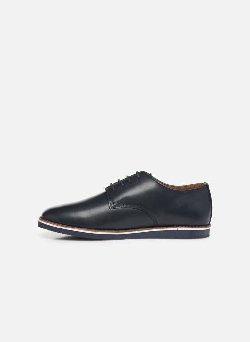 Chaussures à lacets CARREMENT BEAU Derby Y29026 Bleu vue face