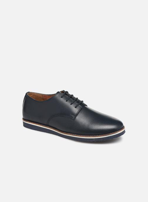 Chaussures à lacets CARREMENT BEAU Derby Y29026 Bleu vue détail/paire