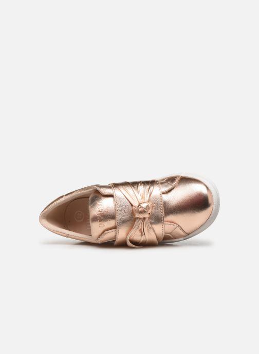 Sneaker CARREMENT BEAU Baskets Y19050 gold/bronze ansicht von links