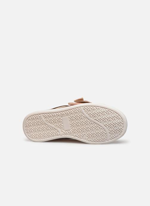 Sneaker CARREMENT BEAU Baskets Y19050 gold/bronze ansicht von oben
