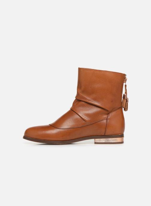 Bottines et boots CARREMENT BEAU Bottes Y19046 Marron vue face