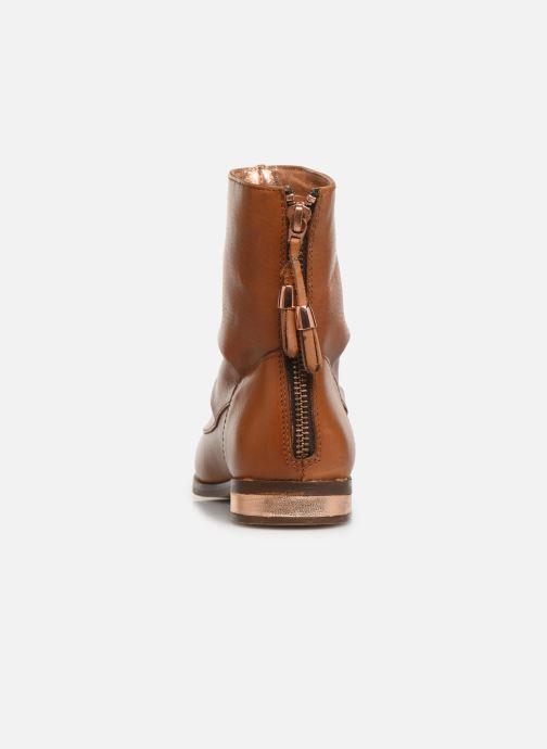 Bottines et boots CARREMENT BEAU Bottes Y19046 Marron vue droite