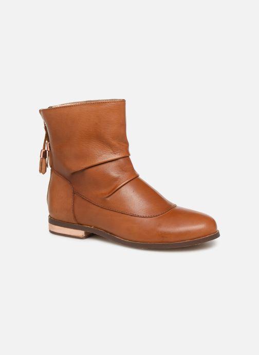 Bottines et boots CARREMENT BEAU Bottes Y19046 Marron vue détail/paire