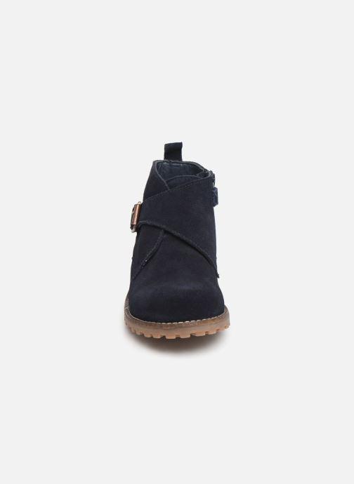 Bottines et boots CARREMENT BEAU Bottines Y29029 Bleu vue portées chaussures