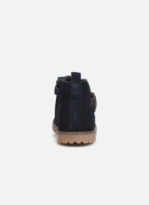 Bottines et boots CARREMENT BEAU Bottines Y29029 Bleu vue droite