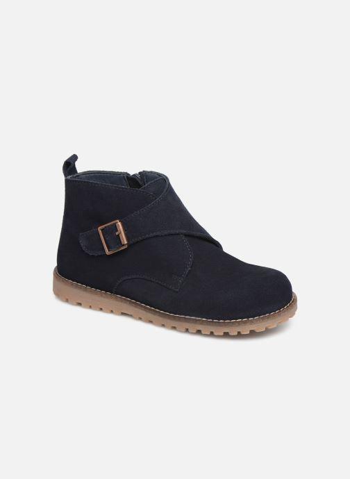 Bottines et boots CARREMENT BEAU Bottines Y29029 Bleu vue détail/paire