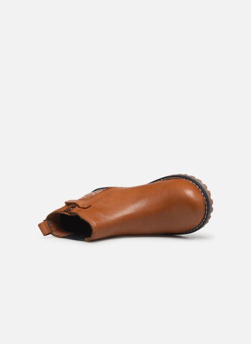 Bottines et boots CARREMENT BEAU Bottines Y29030 Marron vue gauche