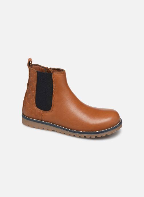 Bottines et boots CARREMENT BEAU Bottines Y29030 Marron vue détail/paire