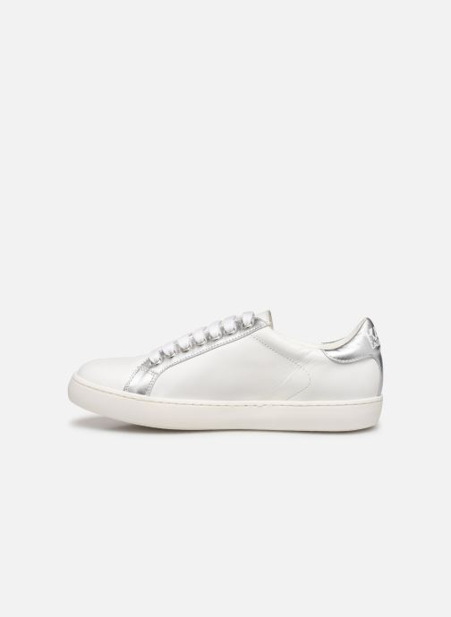 Sneakers Karl Lagerfeld Romantic Sparkle Bianco immagine frontale
