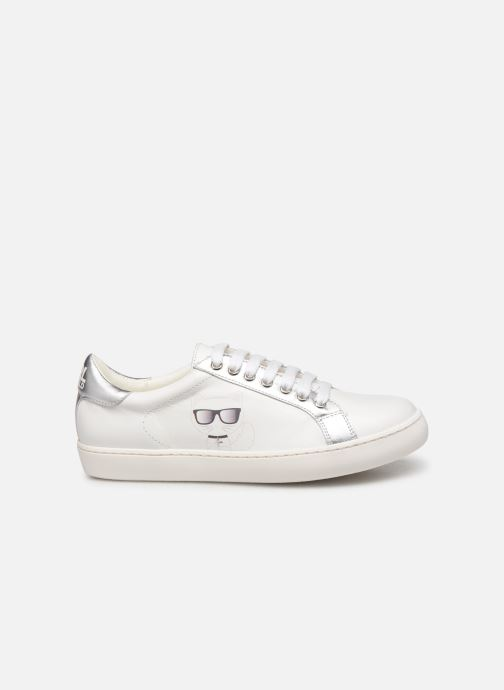 Trainers KARL LAGERFELD Romantic Sparkle White back view