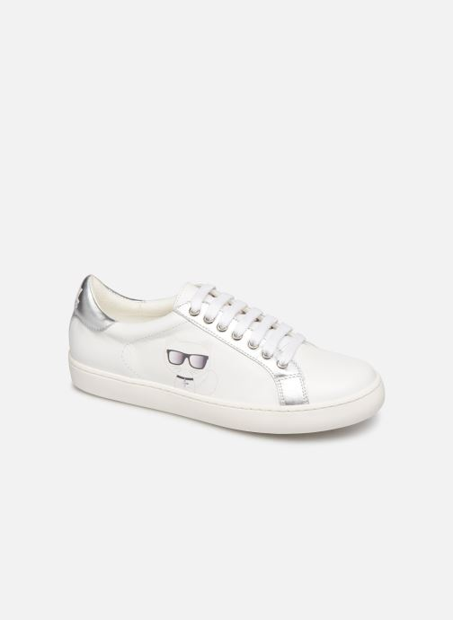 Trainers KARL LAGERFELD Romantic Sparkle White detailed view/ Pair view
