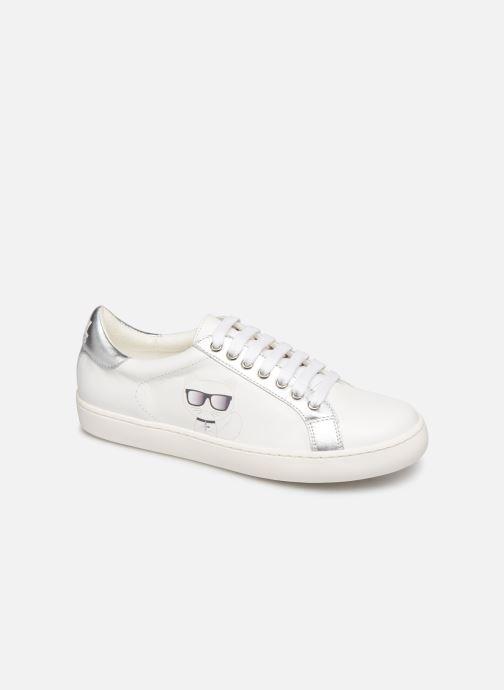 Sneaker Karl Lagerfeld Romantic Sparkle weiß detaillierte ansicht/modell