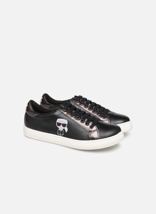 Sneakers KARL LAGERFELD Bad Boy Zwart 3/4'