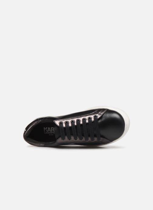 Sneaker Karl Lagerfeld Bad Boy schwarz ansicht von links