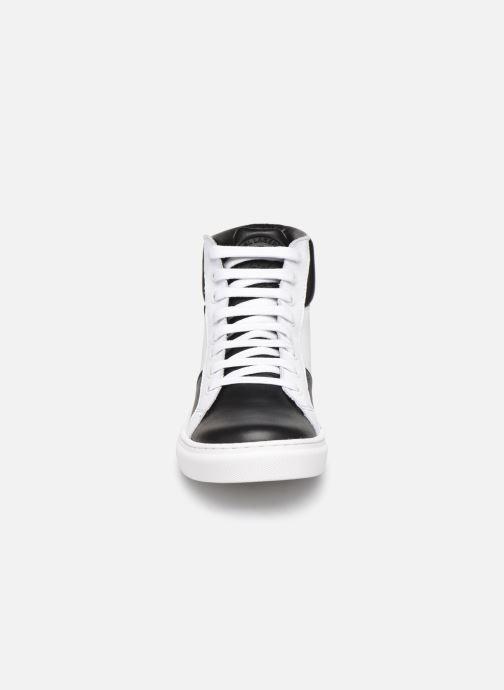 Baskets KARL LAGERFELD Working Boy Blanc vue portées chaussures