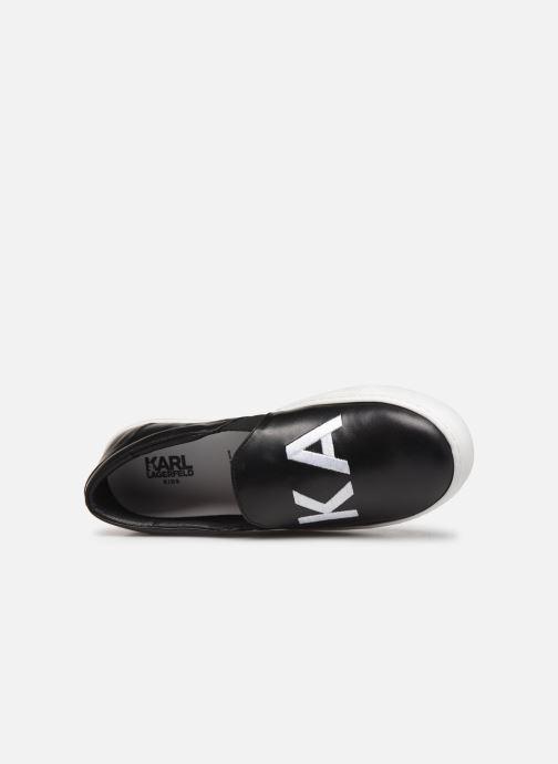 Sneakers Karl Lagerfeld Glam Rock Zwart links