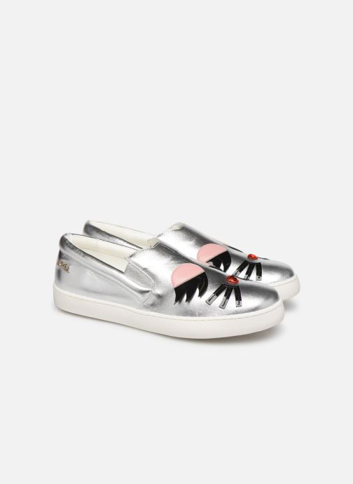 Sneakers Karl Lagerfeld Romantic Sparkle 2 Argento immagine 3/4