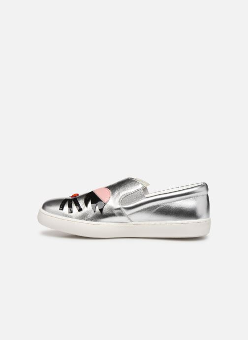 Sneakers Karl Lagerfeld Romantic Sparkle 2 Argento immagine frontale